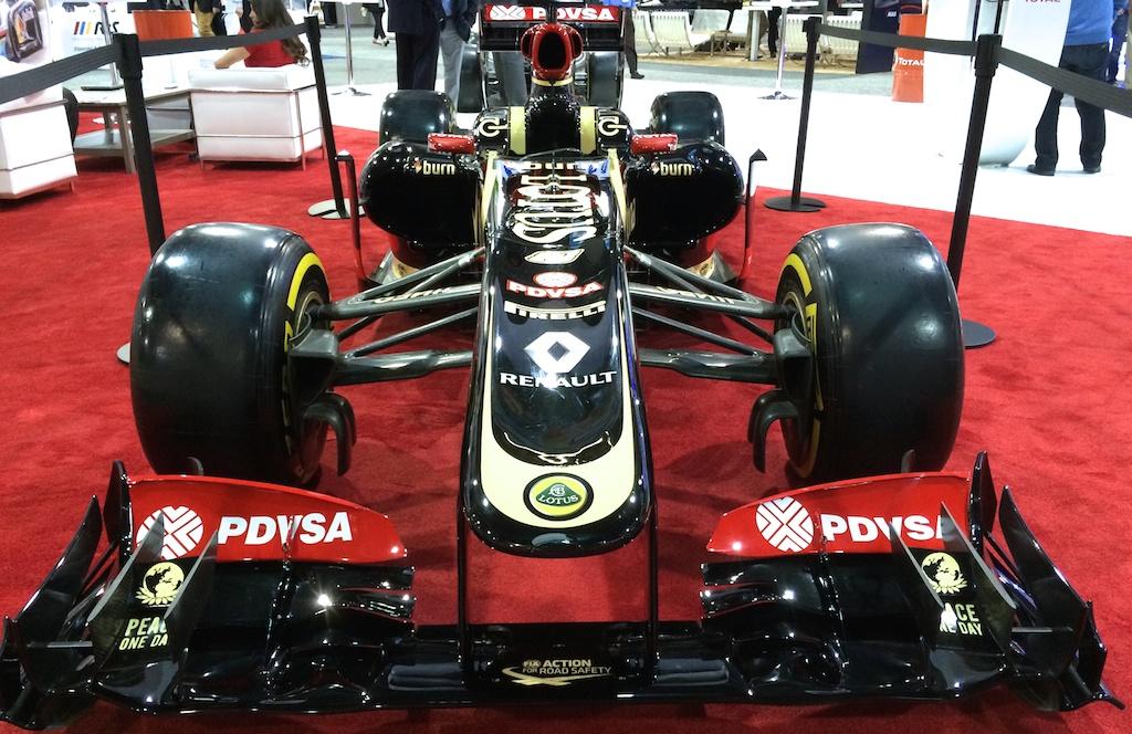 Lotus F1 R31 Head-on