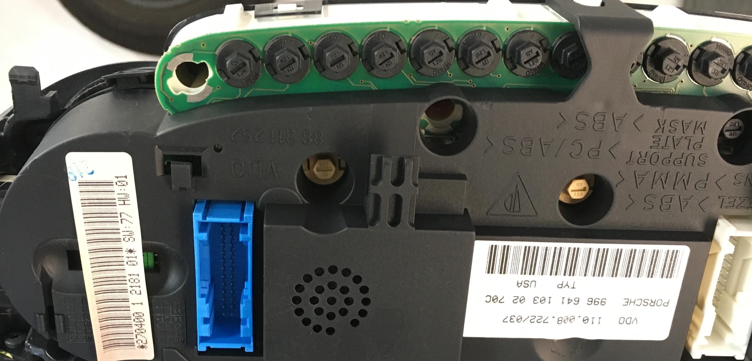 Replace Instrument Cluster Lamp in Porsche 996 – GeorgeCo