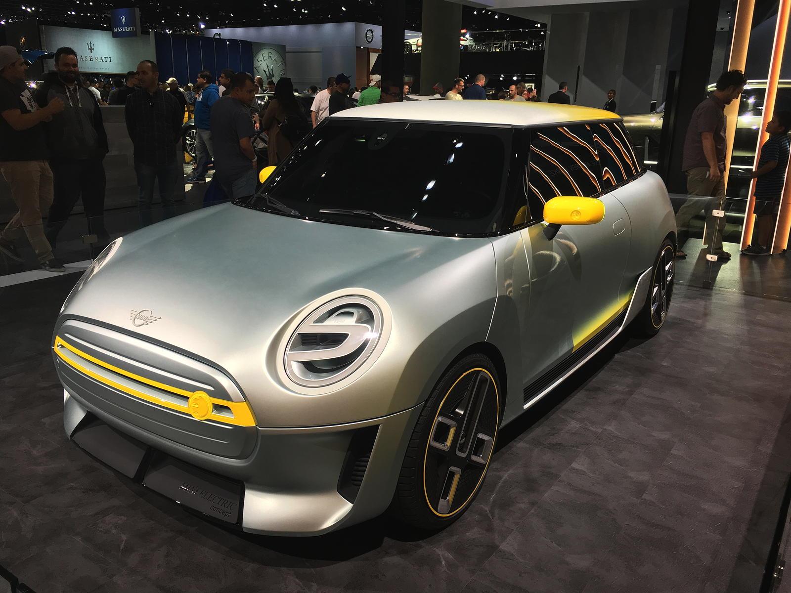 MINI Electric Concept Car at LA Auto Show – GeorgeCo SpecR53 Blog