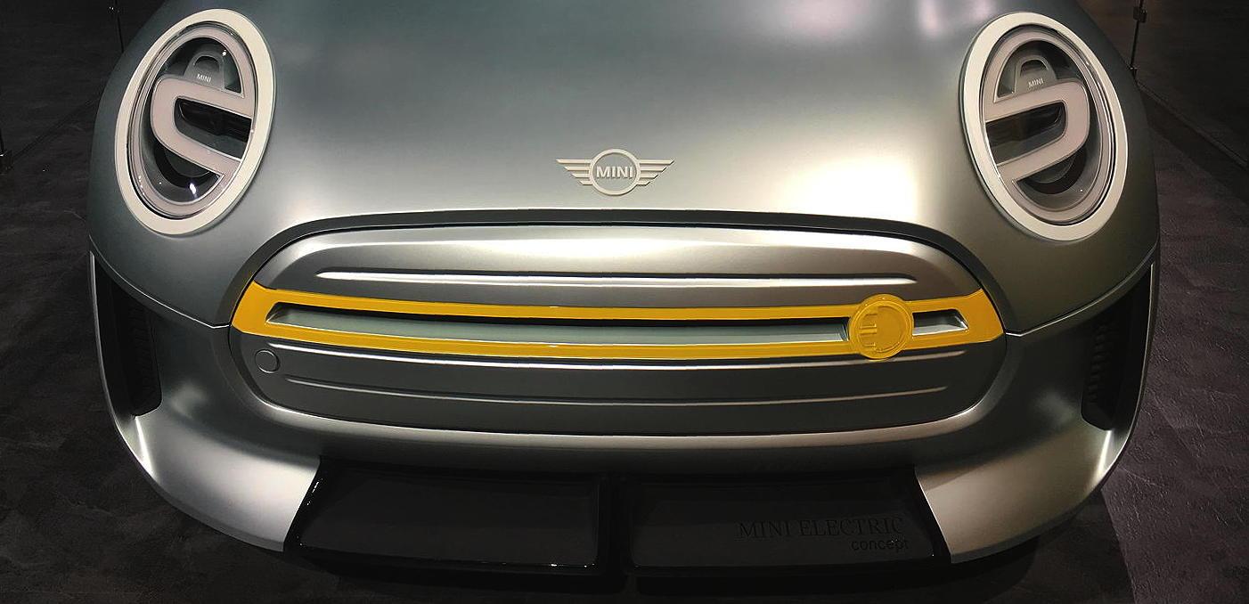 Mini Electric Concept Car At La Auto Show Georgeco Specr53 Blog