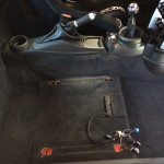 Seat removed