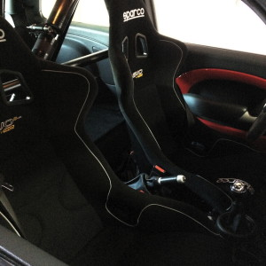 Sparco Seats Installed