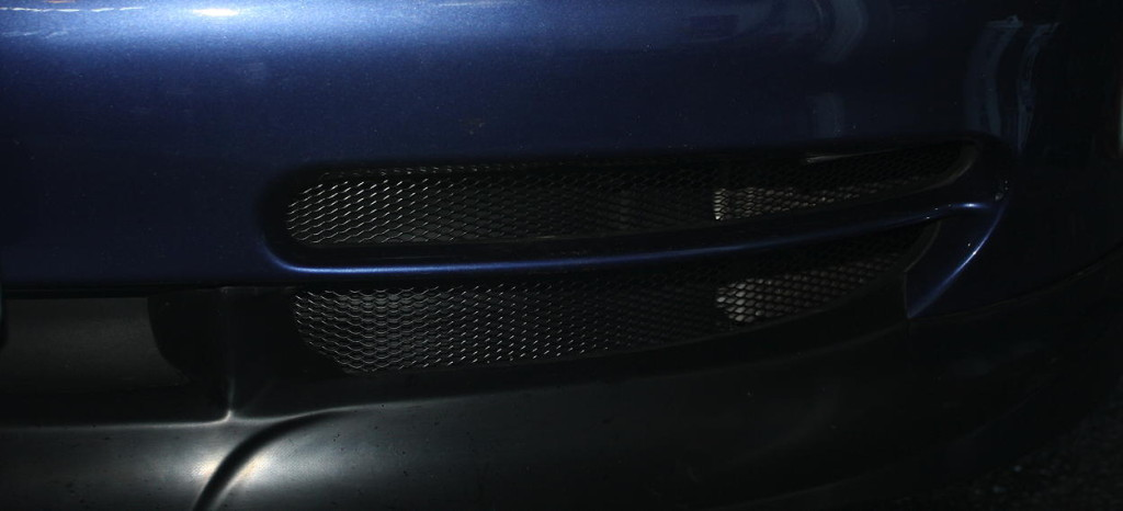 finished grille