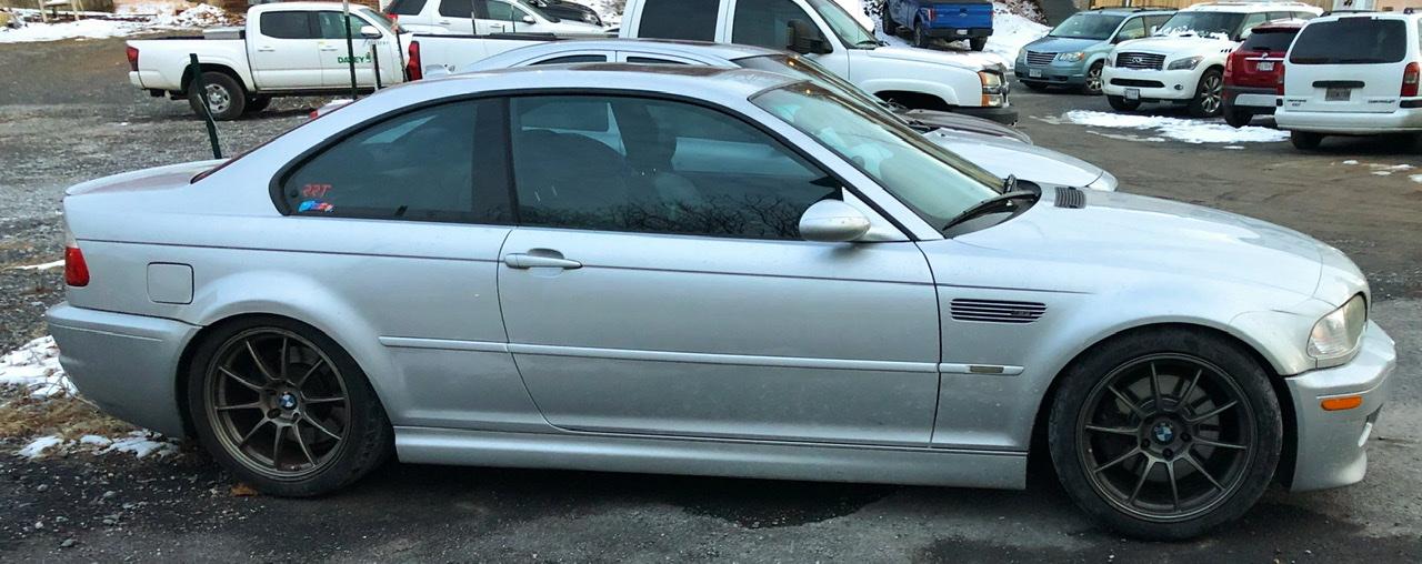 Silver E46 M3